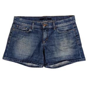 Joe's Jeans Dark Wash Midi Shorts Georgie 31